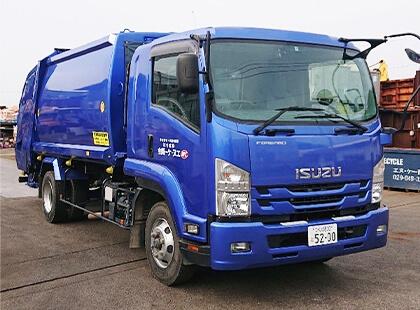 4tトラック(パッカー車)