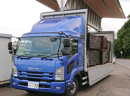 8tトラック(パワーゲート付ウイング車)